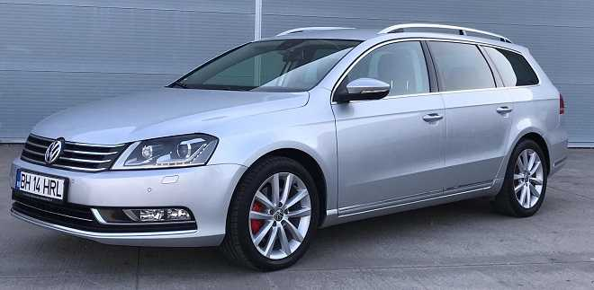 VW Passat Highline 4motion