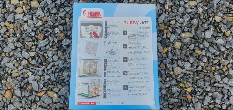 Ventilator Fiamma Turbo Kit trapa rulota